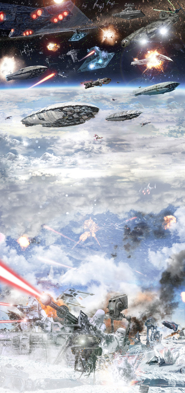 Battle of Hoth star wars, Stormtrooper, ���