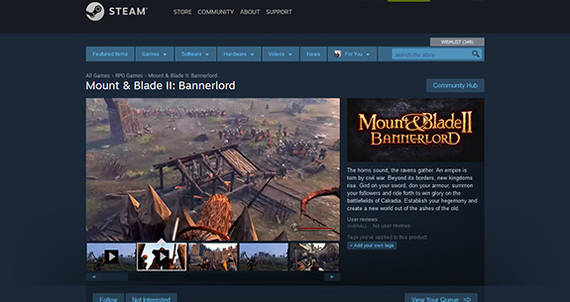 Mount & Blade II: Bannerlord ��������� � Steam! Mount and blade 2, Bannerlord, Steam, ����, �������, �������