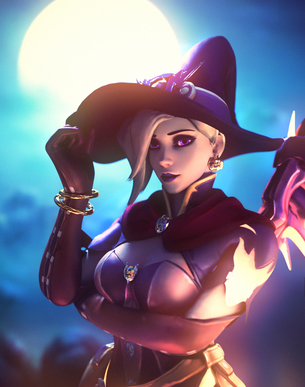 Halloween Mercy art