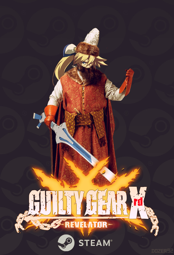 Guilty Gear Xrd: Revelator в Стим. файтинг, steam, guilty gear, Игры, аниме