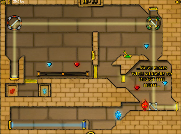 The forest temple is an addictive platform puzzle game, where you have to