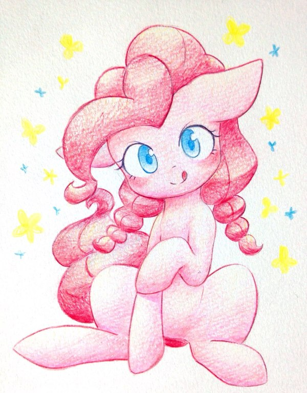 Небольшая доза Пинки Пай my little pony, ponyart, Pinkie Pie, длиннопост