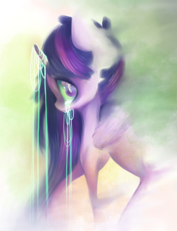 Lose yourself in color my little pony, twilight sparkle, психоделика
