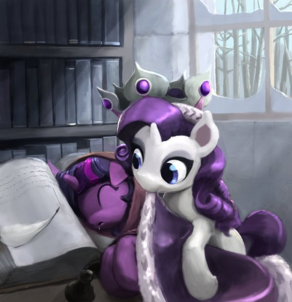 Royal Generosity my little pony, rarity, twilight sparkle, DeviantArt