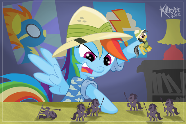 Daring Do Strikes! my little pony, ponyart, rainbow dash, Daring Do
