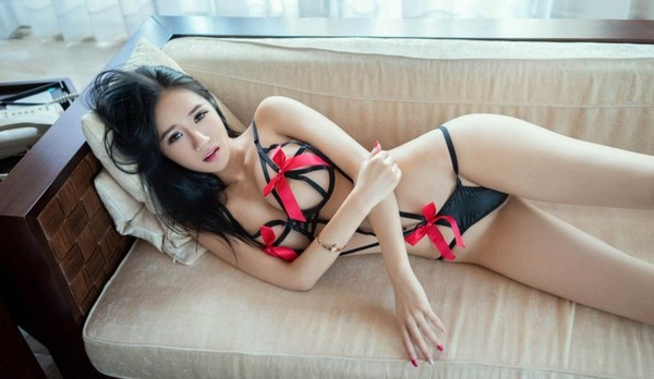 Asian solo model Kita Zen releases her small tits from sexy lingerie № 1018393  скачать