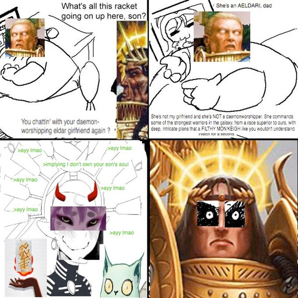 "Предыстория ""Rise of the Primarch"" Warhammer 40k, warhammer, Rise of the Primarch, wh humor"