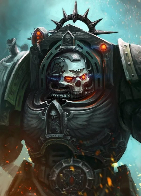 Chaplain in Terminator Armour by Eupackardia Warhammer 40k, warhammer, Chaplain, Wh art