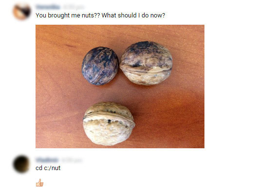 How to crack nuts