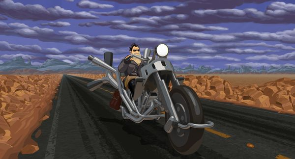 Вышла Full Throttle Remastered Full Throttle, Full Throttle Remastered, Lucas Arts, Double Fine Productions