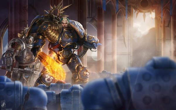 Roboute Guilliman, Lord of Ultramar by TheMaestroNoob