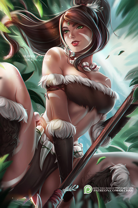 Nidalee by OlchaS