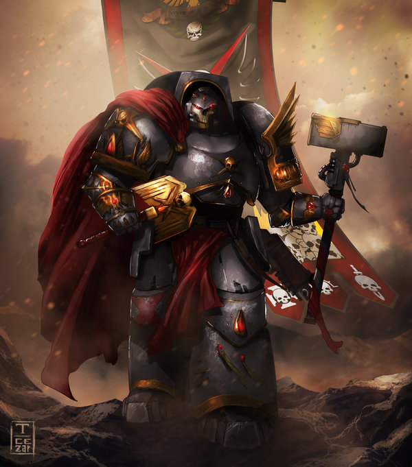 Chapter Master Warhammer 40k, wh art, фан-арт