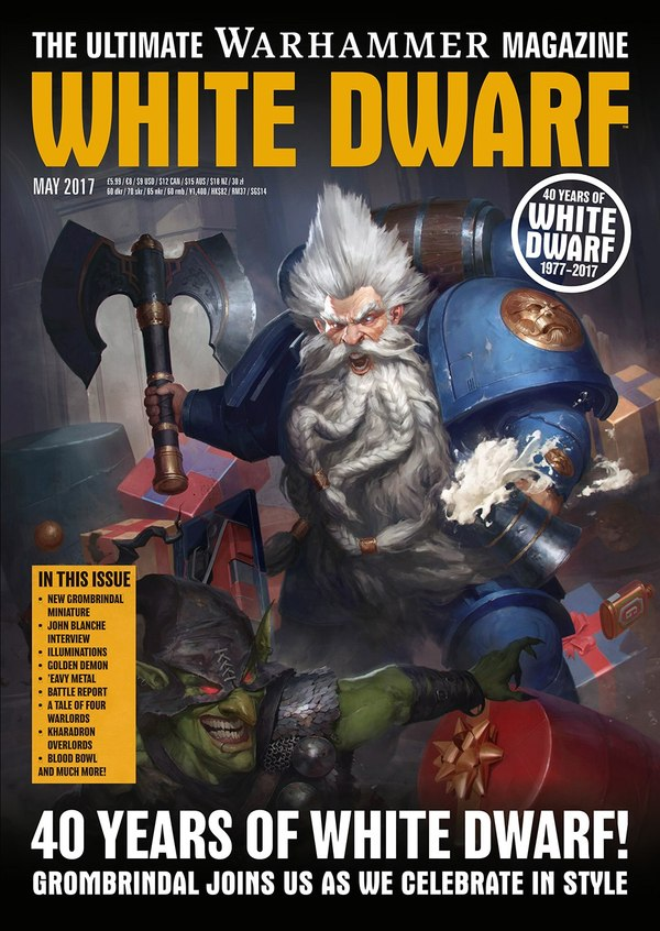 Новый выпуск White Dwarf Warhammer 40k, Blood Bowl, warhammer, white dwarf, wh miniatures, Wh News, длиннопост