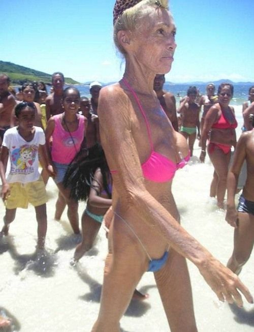 great grandma naked
