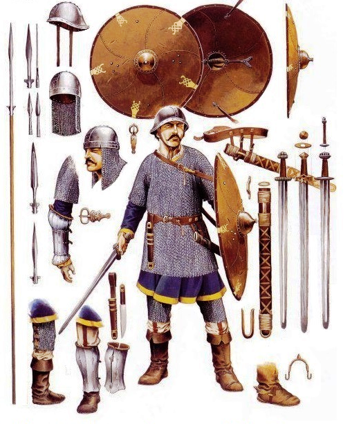 Knights of the middle ages armor