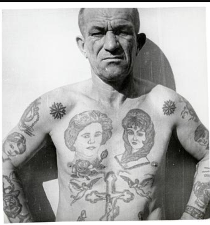 Russian gang tattoos meanings