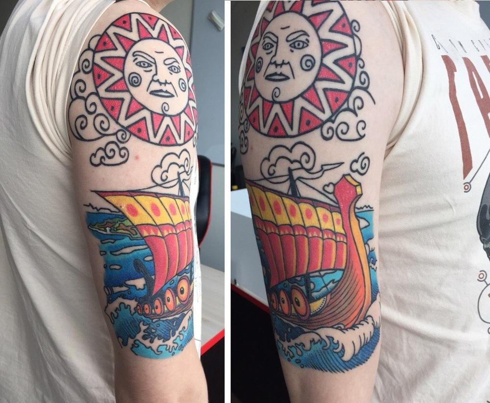 Elegante эскизы тату пионы на руке
