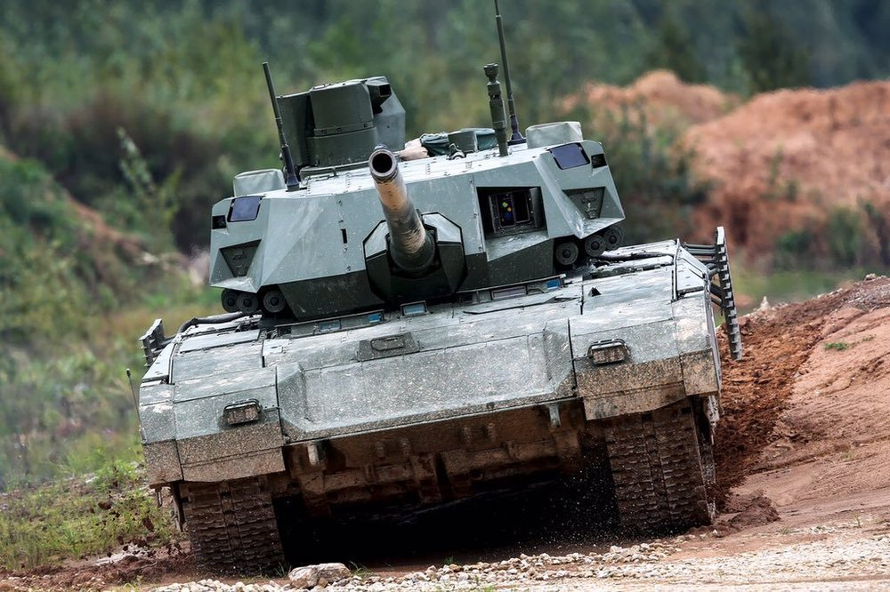 Exército russo aguarda os novos T-14 Armata