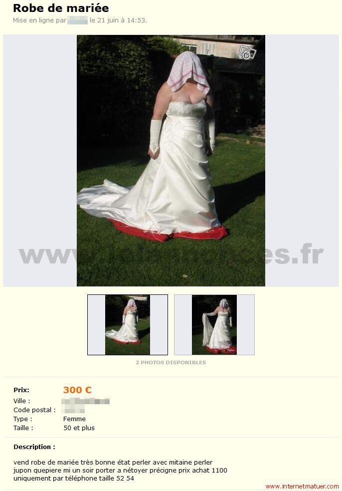La robe du soir vk
