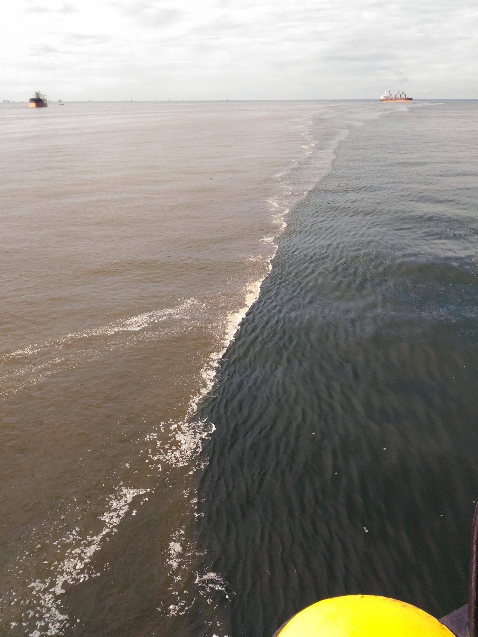 Разница между морем и океаном