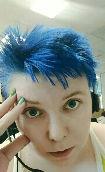 Красят волосы как шлюхи