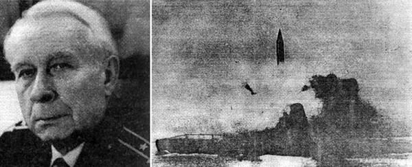 """16 сентября 1955 года был осуществлен пуск баллистической ракеты Р-11ФМ с подводной лодки """"Б-67"""" Подводная лодка, Флот, Морфлот СССР, Северный флот, Ракета, История флота, Подводный флот"""