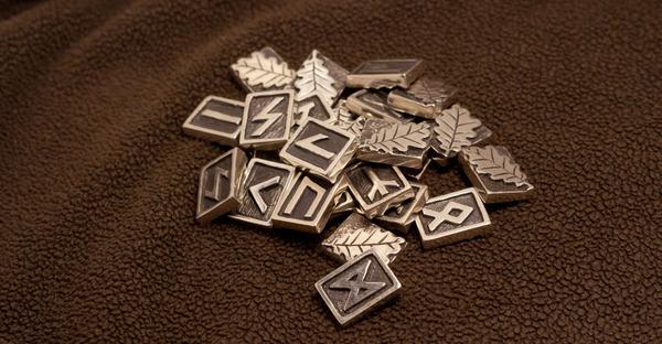 Рунический набор из серебра, изготовление Руны, Своими руками, рунический круг, скандинвия, ювелир, Литье, асатру, длиннопост
