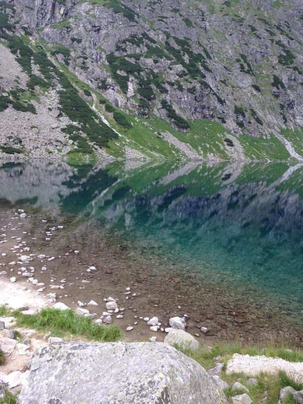 Черный став, озеро на высоте 1583 метров Озеро, Природа, Польша, Путешествия, Фото, Длиннопост