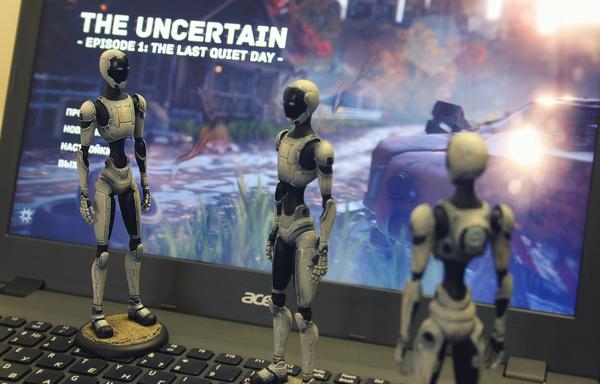 Наша игра The Uncertain сегодня выходит в Steam! Игры, The uncertain, Steam, Gamedev, Unity, Видео, Длиннопост