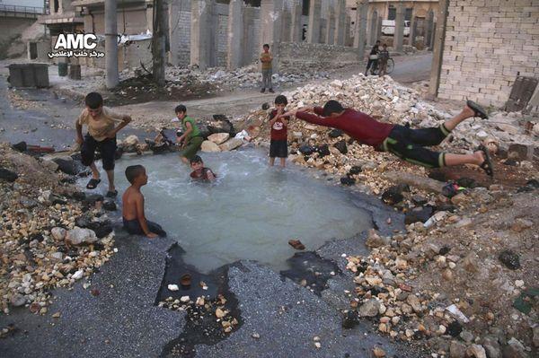 Бассейн в Сирии
