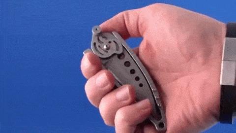 Необычные складные ножи Складной нож, Длиннопост, Необычное, Копипаста, Нож, Гифка