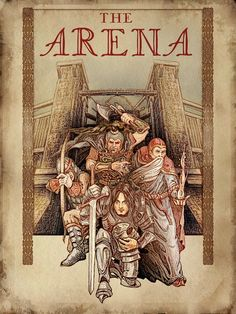"""Арена"". Классика в жанре RPG. RPG, игры, Чтиво, длиннопост"