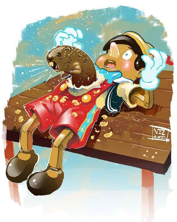 Страшный сон Пиноккио