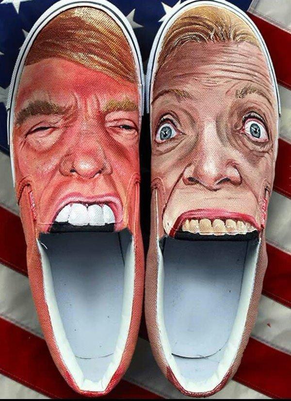 В рот мне ноги! С какой ноги встает американский народ?