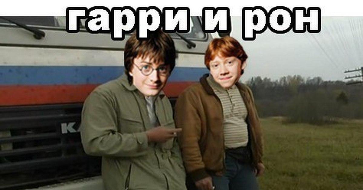 Гарри и рон картинки приколы, парню днем рождения