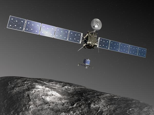 european space agency's rosetta spacecraft - HD2048×1536