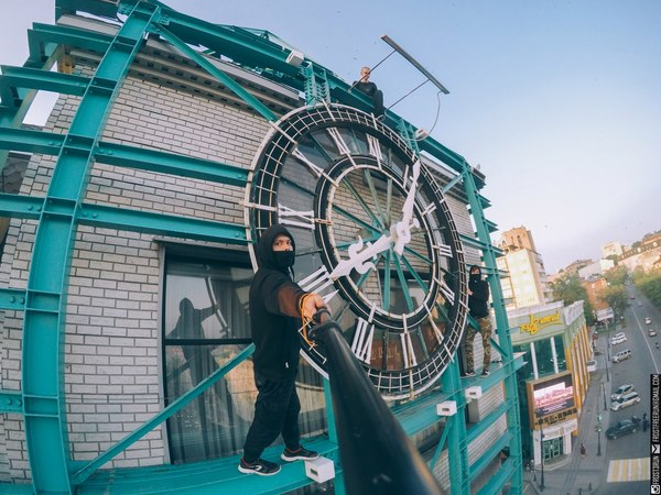 """""""Псс, время подсказать?"""" Владивосток, Биг-Бен, Руферы, Часы"""