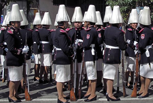 Как выглядит женская военная форма в разных странах армия, девушки, Интересное, военные, информация, одежда, длиннопост
