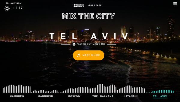 Mix The City. Микшируем звуки городов. Сайт, Музыка, Mixthecity, Видео, Длиннопост