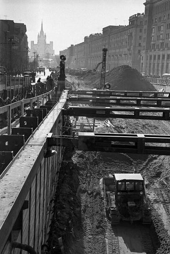Площадь Маяковского 1960 Москва, Фото, История