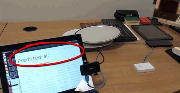 Прототип кончика пальца для робота, определяющий материал изделия