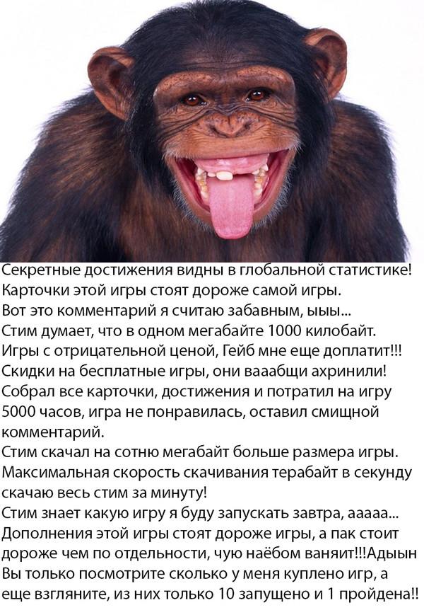 Новая коллекция steam-обезьянок steam, обезьяна, steam-обезьяны, длиннопост