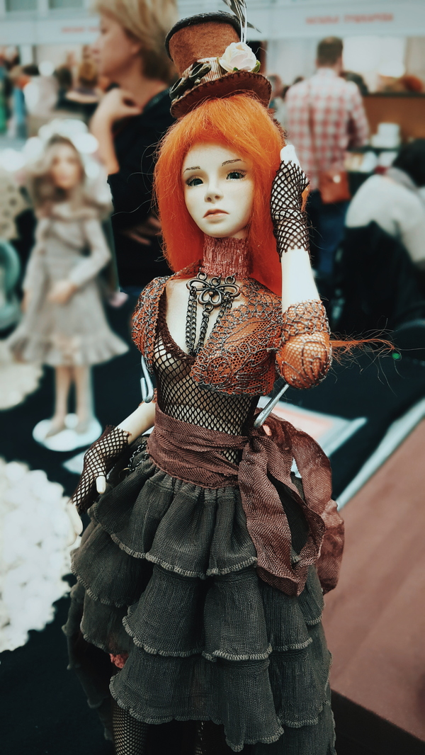 Ходил, Кукол глядел (Часть 1) Кукла, Выставка, Длиннопост