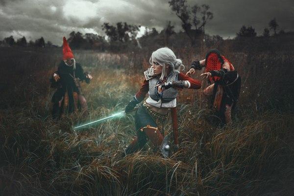 Ведьмак 3: Дикая Охота Косплей, Русский косплей, Ведьмак, Ведьмак 3, Цири, Шептуха, Пряха, Елена Самко, Длиннопост