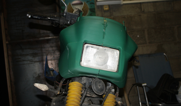Пластик для мотоцикла на 3д принтере. своими руками, мотоциклы, 3d печать, 3D принтер, длиннопост