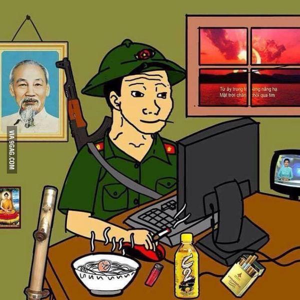 Когда люди узнают что ты из Вьетнама