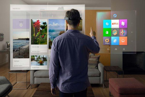 Microsoft HoloLens - очки дополненной виртуальной реальности Microsoft HoloLens, Виртуальная реальность, Виртуальный мир, Microsoft, Очки виртуальной реальности, Длиннопост