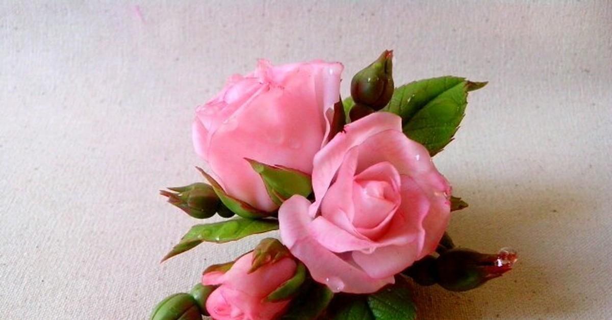 супер картины розы из полимерной глины фото интересным для