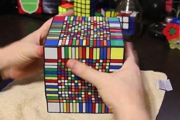 знакомьтесь кубик рубика 17x17 мировой рекорд 7 5 часов